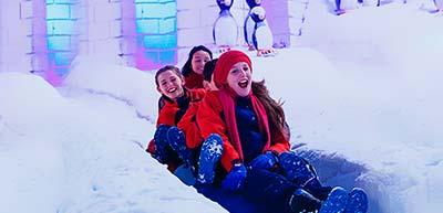 Parque Snowland - Viva a neve!